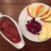 Slow Cooker Cranberry Applesauce