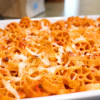 [3 Cheese] Wagon Wheel Pasta Bake
