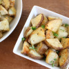 Garlic Roasted Potatoes + How to Make Perfectly Roasted Vegetables
