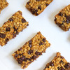 Chewy Pumpkin Chocolate Chip Bars