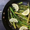 Lemony Asparagus with Garlic and Parmesan