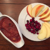 Slow Cooker Cranberry Applesauce