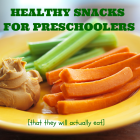 Healthy Snacks for Preschoolers