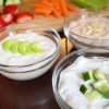 Greek Yogurt Dip Three Ways