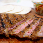 Grilled Garlic Lime Flank Steak for Tacos and Fajitas
