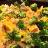 Chicken Broccoli Rice Skillet with Cheddar Cheese