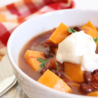 Sweet Potato and Black Bean Chili