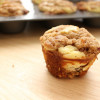 Carrot Pumpkin Cheesecake Muffins