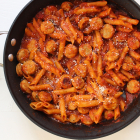 Skillet Ziti with Chicken Sausage