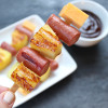 Hot Dog Pineapple Kabobs