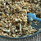 Coconut Chocolate Chip Skillet Granola