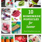 10 Homemade Popsicle Recipes for Summer