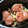 Slow Cooker Pork Chops, Apples, and Onions