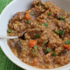 Veggie-Packed Beef Barley Soup