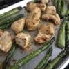 Sheet Pan Garlic Parmesan Chicken Dinner