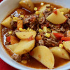 Mexican Beef and Potato Soup