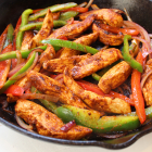 Skillet Chili-Lime Chicken Fajitas