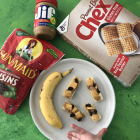 Peanut Butter Banana Cereal Bites