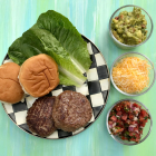 Fiesta Burgers + 5 Mix n' Match Burger Toppings