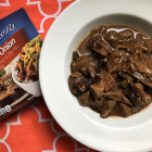 Slow Cooker Beef Tips and Mushrooms