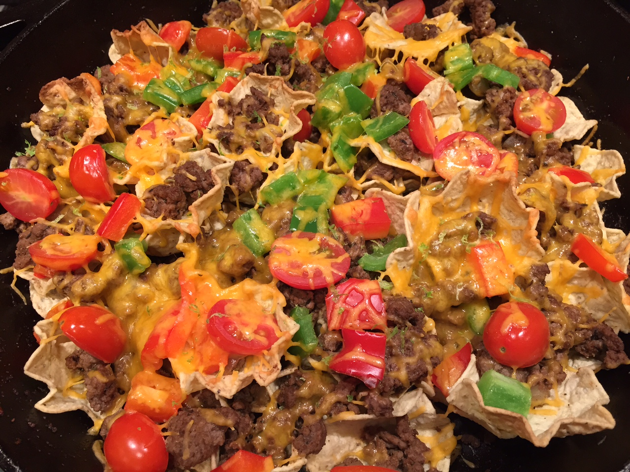 how to cook beef for nachos