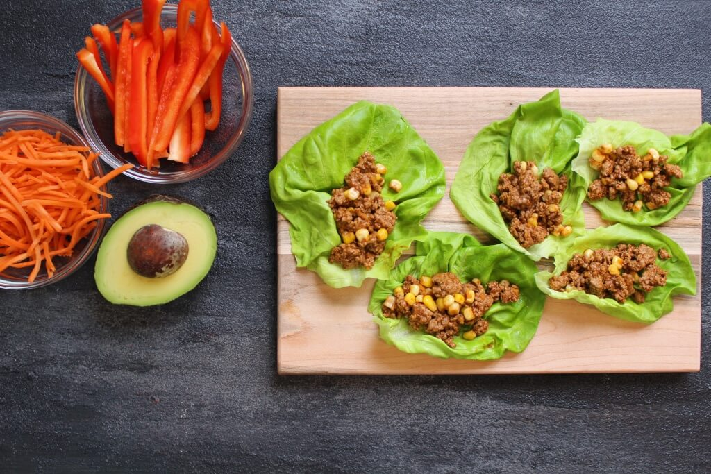 Taco lettuce wraps are a lighter take on the classic Ground Beef taco ...
