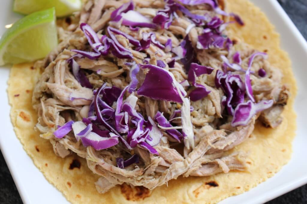 Ingredient Pulled Pork Tacos are juicy, flavorful, and made with ...