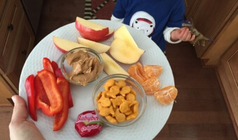 What My Toddler Eats in a Day