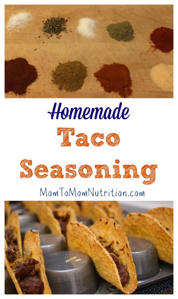 Homemade taco seasoning is an economical and healthy way to spice up ...
