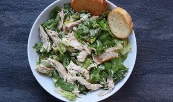 Rotisserie Chicken Caesar Salad
